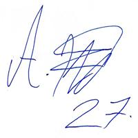 автограф Жано