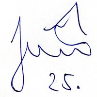 автограф Иранека