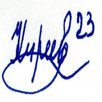 автограф Киреева