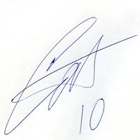 автограф Саенко