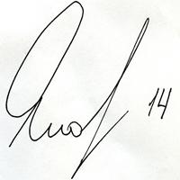 автограф Яковлева