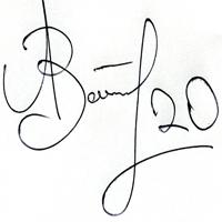 автограф Зотова